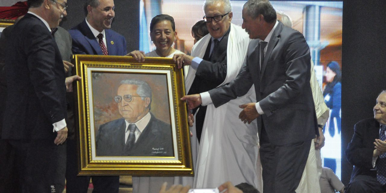 Lakhdar Brahimi, lauréat du «Vivre ensemble»